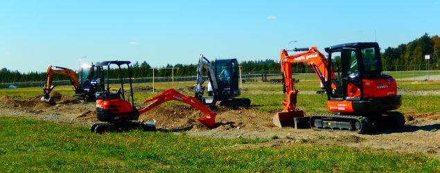 Outdoor Equipment Demo Zone