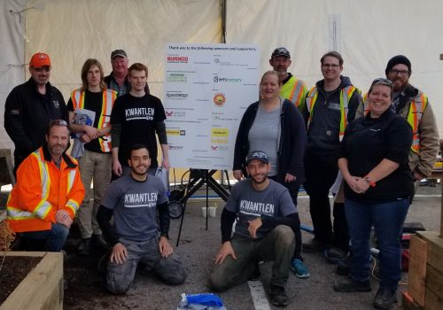 Skills Canada BC 2018 Landscape Gardening Competition Team Members