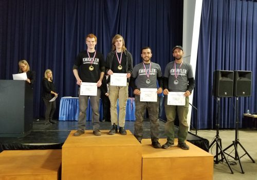Skills Canada BC 2018 Landscape Gardening Competition Winners