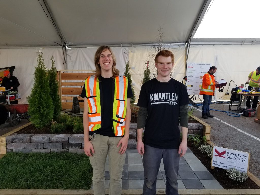 Skills Canada BC 2018 Landscape Gardening Competition Gold Medal Winners Profile