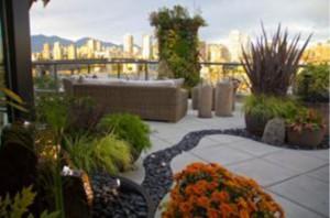 Landscape Installation - Small Space Garden