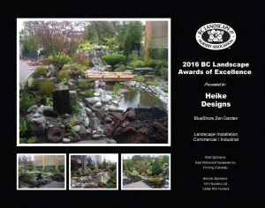 Landscape Installation – Commercial / Industrial