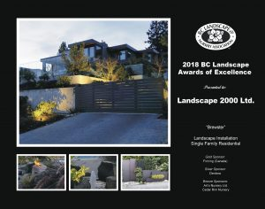 Landscape Award of Excellence - Brewster
