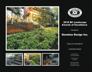 Landscape Award of Excellence - Deep Cove Woodlands