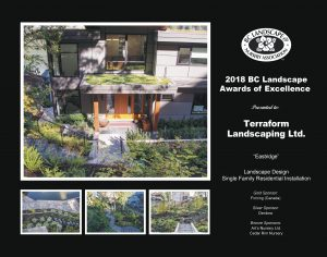 Landscape Award of Excellence - Eastridge