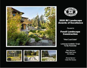 Landscape Installation Single Family Residential- West Coast Estate