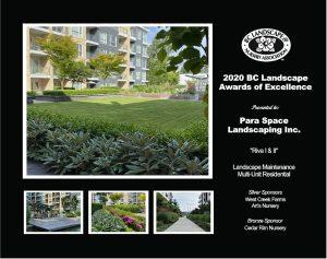 Landscape Maintenance Multi-Unit Residential- Riva I & II
