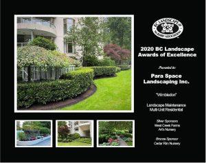 Landscape Maintenance Multi-Unit Residential- Wimbledon